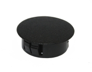 25mm-diameter-plastic-dome-cap-round-black
