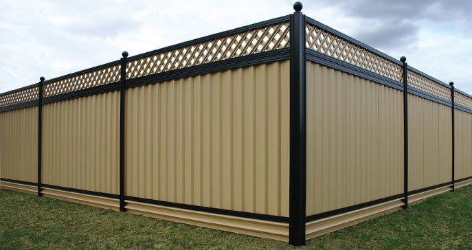 Steel Fencing Supplies Australia Wide : Outdoor Privacy Screens: Metal Panels : Gramlineu00ae