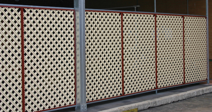 Gramlat 174 3d Lattice Pre Painted Steel Lattice Gramline 174